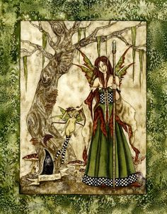 Faery with Staff