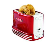 The Nostalgia RTOS200 Retro Series 2-Slice Toaster is a powerful 750-watt toaster equipped to handle any of your toasting needs. Designed to accommodate a variety of breads, two large toasting slots provide ample room for toasting everything from thick slices of bread to bagels. Adjust the... - http://kitchen-dining.bestselleroutlet.net/product-review-for-nostalgia-rtos200-retro-series-2-slice-bagel-toaster/