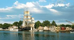 Mystic Seaport In Connecticut Is The Largest Maritime Museum In The Country And Is An Interactive And Educational Experience For All Ages.