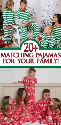0d834fb03b Matching Family Christmas Pajamas you NEED this Holiday Season