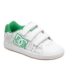 This DC White & Green Character V Sneaker by DC is perfect! #zulilyfinds