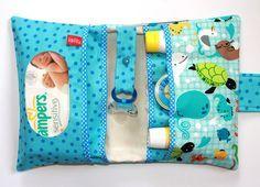 Windeltasche für Babys, Wickeltasche für Unterwegs, Baby on tour / diaper bag for babies, bag for baby on the road made by lalilu-handmade via DaWanda.com