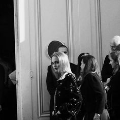 Lily-Rose Depp/ Chanel Show Spring Summer 2017 in Paris.
