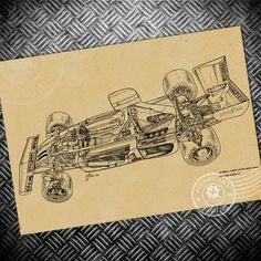 1.98$  Buy here - http://aiku9.worlditems.win/redirect/32691476884 - Free ship Vintage F1 Car poster Retro wall art painting sticker bar living room house decoration print picture 42x30cm   #buychinaproducts