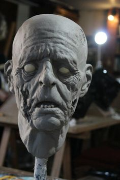 zombie head - By Glauco Longhi www.glaucolonghi.com