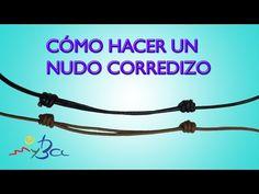 Abalorios Manualidades - Como hacer el nudo corredizo ( version 2 ) - YouTube