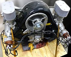 No Reserve: 1957 Porsche Type 547/1 4-Cam Engine
