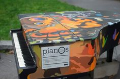 2015 Sing for Hope Piano placed in Tappen Park