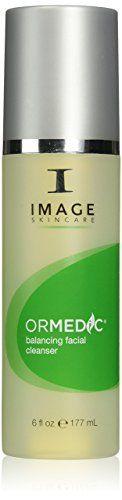 An organic-blend balancing gel cleanser #that lifts away makeup and impurities.