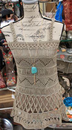 Braided tuni/dress $28