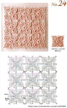 #crochet flower continious motifs #afs