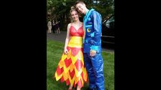 See prom dresses made of duct tape | WSB-TV