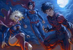 The three supers