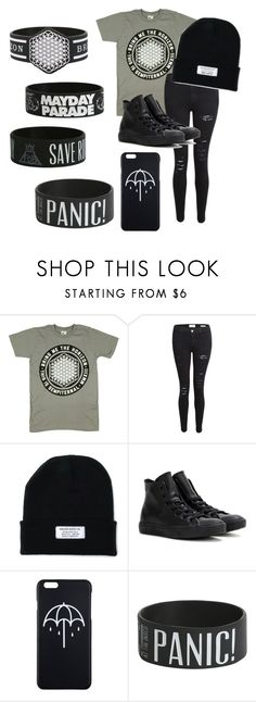 """""""syle"""" by fall-away ❤ liked on Polyvore featuring Frame Denim and Converse"""