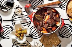 Beef Burgundy Stew (60s) - 50 Years of Southern Recipes - Southernliving. The Vice President for the Southern division of Sears, Roebuck, and Co. sent us this recipe after a trip to France.  Recipe:Beef Burgundy Stew