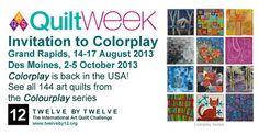 Colorplay at AQS QuiltWeek