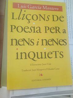 Lliçons de poesia per a nens i nenes inquiets de Luis García Montero