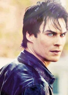 "Ian Somerhalder as Damon Salvatore in ""The Vampire Diaries""."