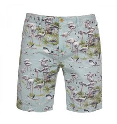 Bermudas cortas y estampadas, ideales para verano. De la marca Scotch & Soda para Fulham Fulham, Patterned Shorts, Bermuda Shorts, Pants, Bermudas, Summer, Printed Shorts, Trousers, Women Pants