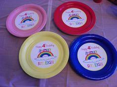 My Little Pony plates CatchMyParty.com