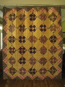Early 19th C Museum Quality Antique PA Chintz Quilt 1820 - 1830's w/ Provenance   eBay