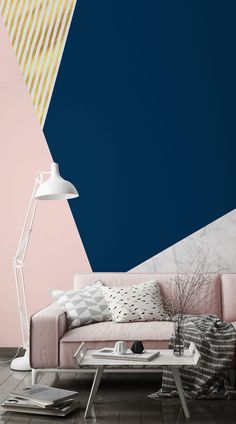 Modernise your home with these cutting-edge Geometric Wallpaper Murals - Murals Wallpaper