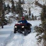 ATV Snow Ride