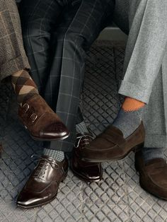 A mens well-tailored suit is the most important piece in a men's wardrobe, but what would a man do with a nice Suit without nice SHOES!?