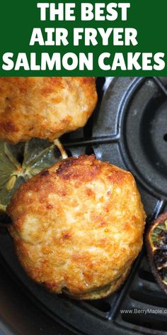 Try this Air fryer salmon cakes, so delicious, juicy and healthy! Keto, paleo, and low carb. You can make this salmon patties from frozen and from fresh salmon fish fillets. Dont forget a…More Recipes salmon सूचना के लिए हमारी साइट पर पहुंचें Air Frier Recipes, Air Fryer Oven Recipes, Air Fryer Dinner Recipes, Air Fryer Recipes Paleo, Air Fryer Recipes Shrimp, Avocado Dessert, Appetizer Dessert, Quick Recipes, Paleo Recipes