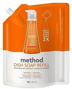 Method Clementine Dish Soap Refill 36oz X 3*: save 20% on a new subscription order + #coupons #discounts