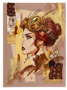 steampunktendencies:  Illustrations by Olivier Ledroit