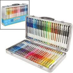 GelWriter® 2pk of 48ct Gel Pen Set in Window Tin...