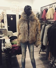 Oh you fancy huh?  Jackie Faux Fur Jacket