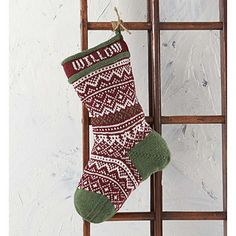 The Northern Stocking features deep holiday hues and traditional patterns and motifs that make it look like your favorite cozy sweater. Once you're finished, you can easily customize this stocking with a loved one's name, making it a great Christmas present. Durable and easy-care Willow Daily Worsted will ensure that this exquisite piece is around for years to come.