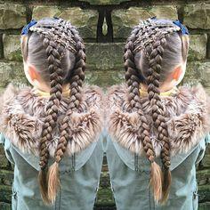 Fancy braids.