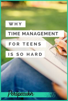 Time management has caught on for businesses and college students - but what about teenagers? Time management can be difficult during high school, but it's not impossible!