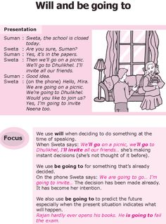 Grade 8 Grammar Lesson 14 Will and be going to
