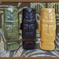 Kon Tiki Tribute Mugs, set of 3