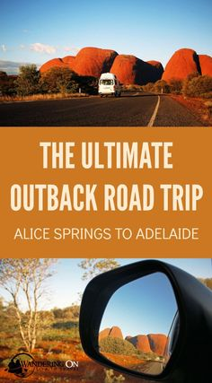Heading to the Australian Outback? It has to be one of the best places for a camping road trip adventure! Here are our tips and a 10 day itinerary for driving from Alice Springs to Adelaide via Uluru/Ayers Rock on Australia's famous Stuart Highway. Australia Travel Guide, Visit Australia, Western Australia, South Australia, Road Trip Essentials, Road Trip Hacks, Auckland, Brisbane, Road Trip Adventure