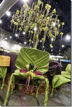 Eco friendly tablescape