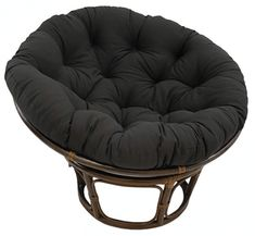 online shopping for Blazing Needles Solid Twill Papasan Chair Cushion, 48 x 6 x 48 , Black from top store. See new offer for Blazing Needles Solid Twill Papasan Chair Cushion, 48 x 6 x 48 , Black Double Papasan Chair, Papasan Cushion, Swivel Rocker Chair, Couch Cushions, Wing Chair, Outdoor Cushions, Outdoor Lounge, Toss Pillows, Indoor Outdoor