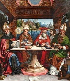 pietro francesco sacchi - dottori della chiesa- ca.1516