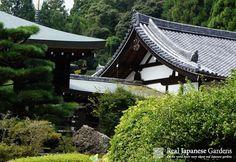 Saihō-ji (Koke-dera) | Real Japanese Gardens -   Temple buildings of the Moss temple