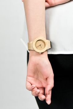 Get a wooden watch for $119 at analogwatchco.com