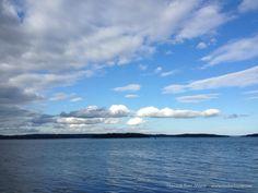 Sky over Frenchman Bay | Hancock Point, Maine