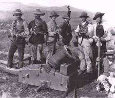 Great Anglo-Boer War, Part I: Triumph of the Boer and his Mauser Rifle Colonial, War Photography, British Army, African History, World History, Military History, Worlds Of Fun, Wwi, Old Pictures