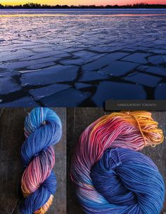 hand dyed yarn                                                       …