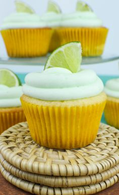 Margarita Cupcakes with Tequila Lime Frosting | www.revamperate.com
