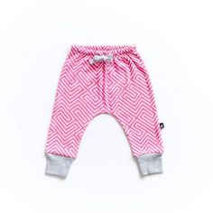 Anarkid – Rose Maze relaxed pants All our garments are made from GOTS certified organic interlock cotton and made in India under fair trade terms and conditions.  The cotton in our Rose maze pants are super soft and safe on your little ones skin.