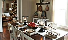 Christmas Table Setting Ideas in Glamorous Baroque Style - Jazzyliving.com